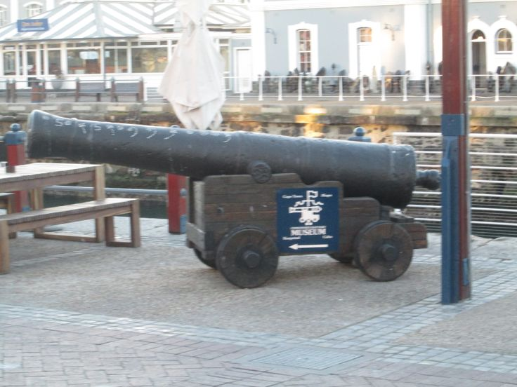 cannon at the waterfront