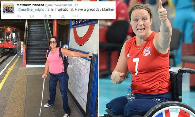Martine Wright lost both her legs in the 7/7 bombings returns to Tube