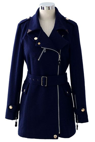 Fresh Coats: 10 Winter Coat Trends Under $300 - Chicwish belted trench coat