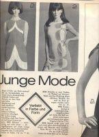 Журнал BURDA MODEN 1966 06 / БИБЛИОТЕЧКА ЖУРНАЛОВ МОД / Библиотека / МОДНЫЕ СТРАНИЧКИ