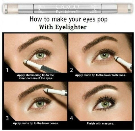 one of my favorite tips to make your eyes pop! #beauty