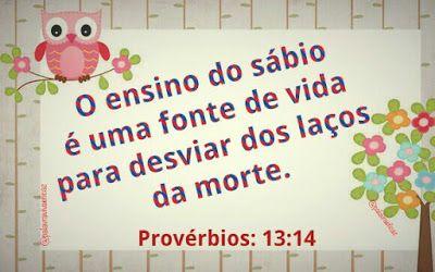 Palavra e Ação : Provérbios 13  Comentário Pr Heber Toth Armí