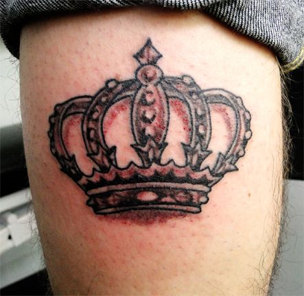 28 best images about crown tattoo designs on pinterest for Best crown tattoos