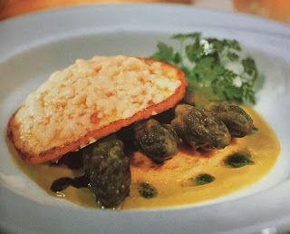 LE GUSTOSE RICETTE  DI NONNA MARIA: Crespelle di patate gratinate con punte di asparag...