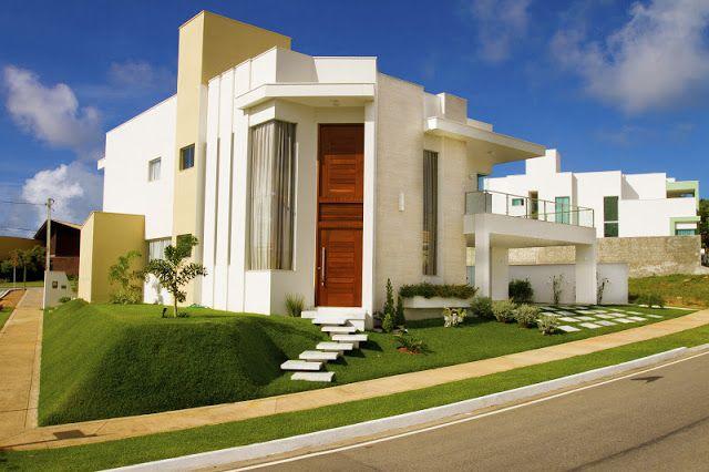 Decor salteado blog de decora o e arquitetura 15 - Entrada de casas modernas ...