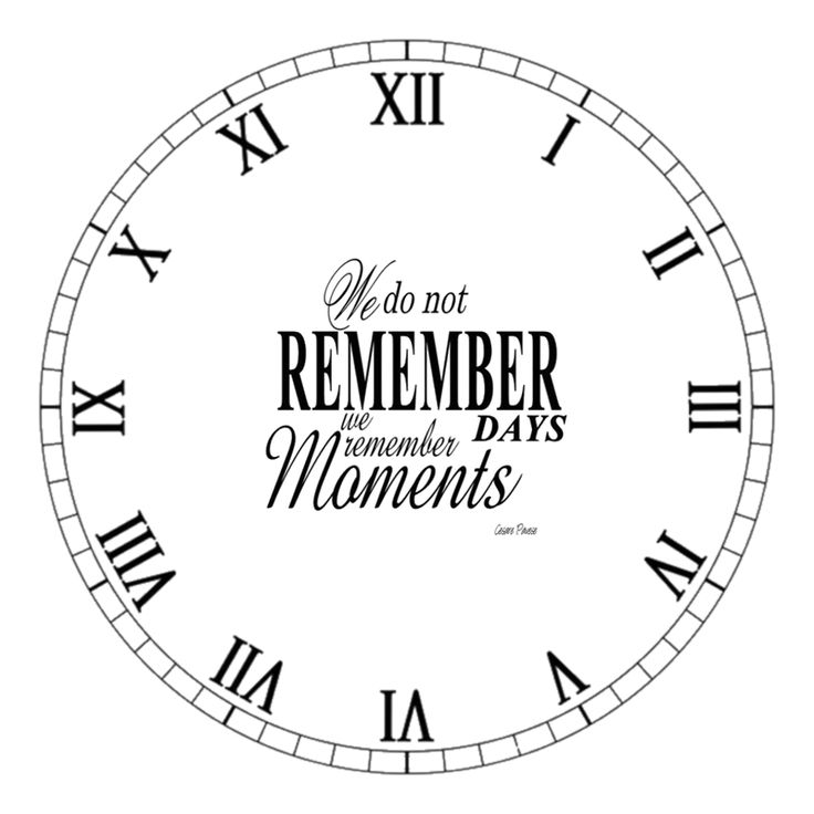 25 best ideas about clock face printable on pinterest - Reloj pared vintage ...