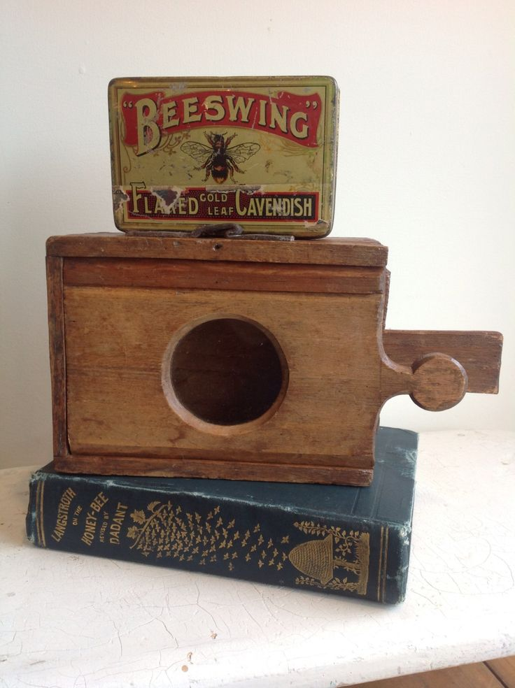 Antique Queen Bee Cage -- love this vintage #beekeeping equipment!
