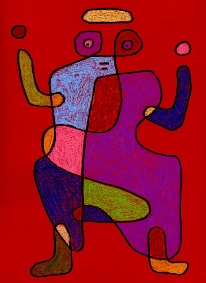 Paul Klee doodle drawing   # Pinterest++ for iPad #