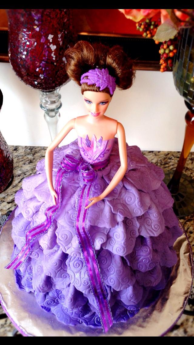 Beautiful Barbie Birthday Cakes