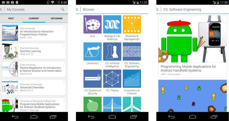 coursera android