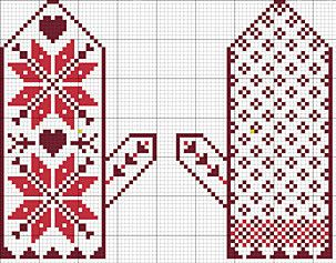 Posie: Rosy Little Things — Snow Day Ornament Set Pattern
