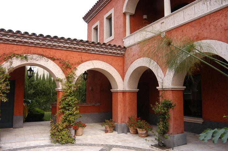 Arquitectura - Paisajismo - Ricardo Pereyra Iraola - Buenos Aires - Argentina - Patio - Arcadas - Casa