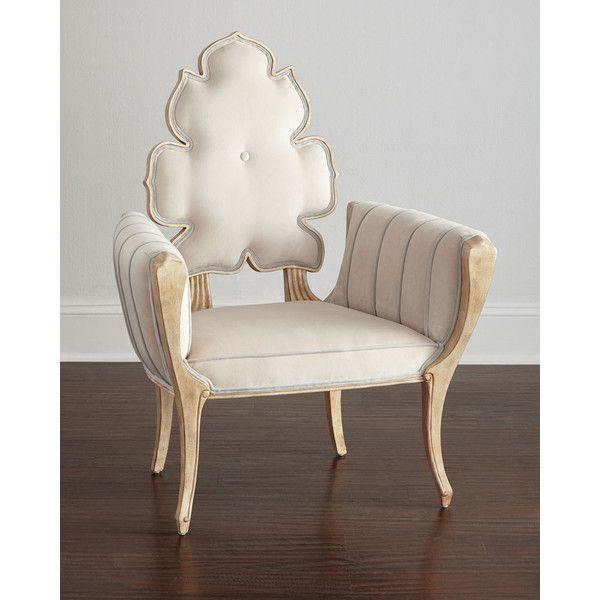 Global Views Wiggle Chair: Global Views Pearl Wiggle Chair (12.155 BRL) Liked On