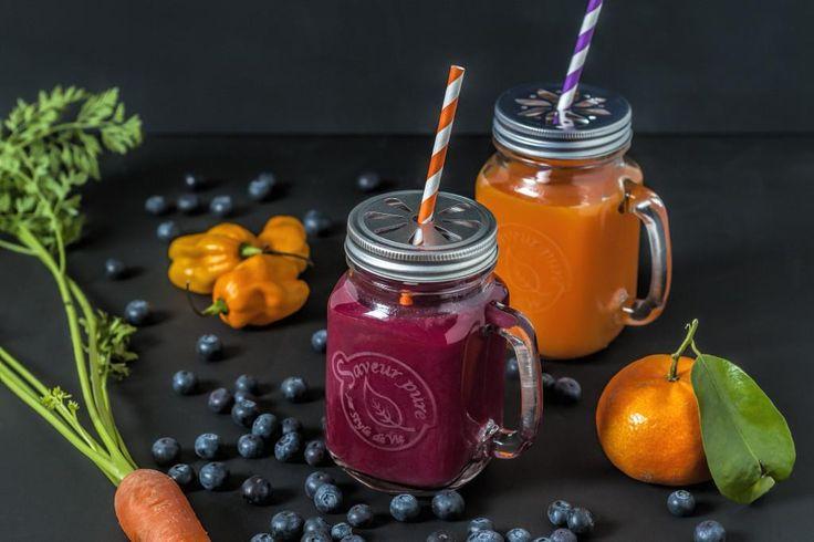 Giftbox Drinking Jars - Set van 2 - Saveur Pure kopen? - Woonwebwinkel LiL.nl