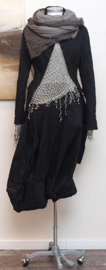 rundholz - Hose Rock Hosenrock Stretch black - Sommer 2014 - stilecht - mode für frauen mit format...