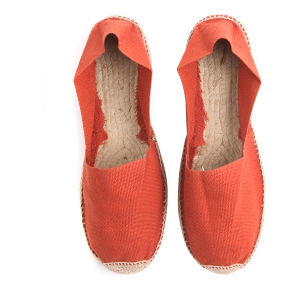 Polder Espadrilles Orange sur LFG via Polyvore