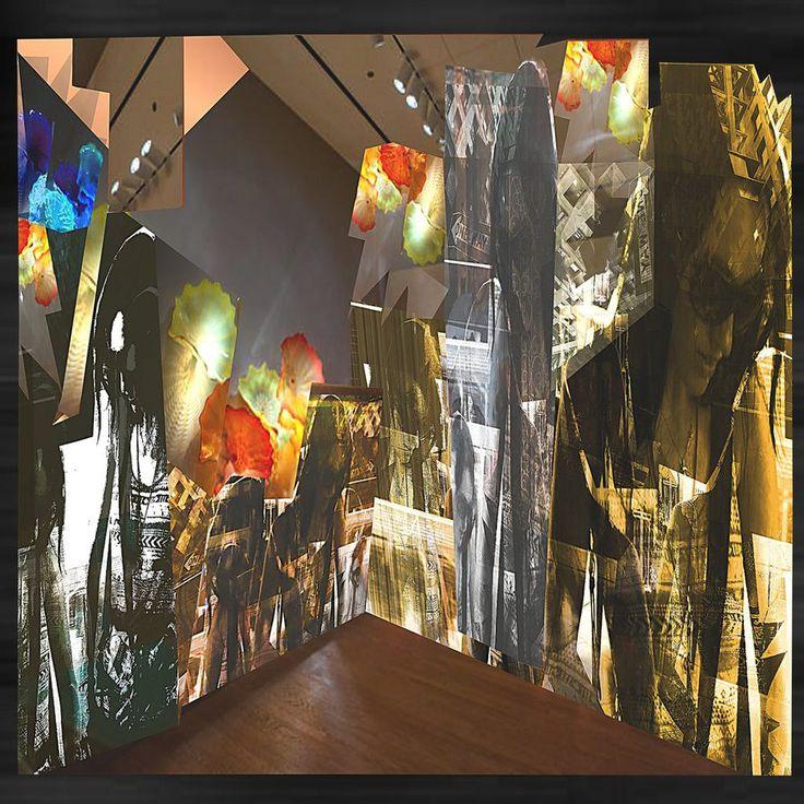 "Title: "" Imaginary mizzN installation "" (2014)"