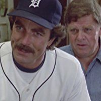 Tom Selleck and Pat Hingle in Magnum (1980)