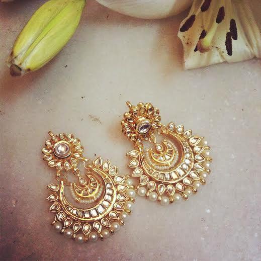 Chand Bali #indianjewellery