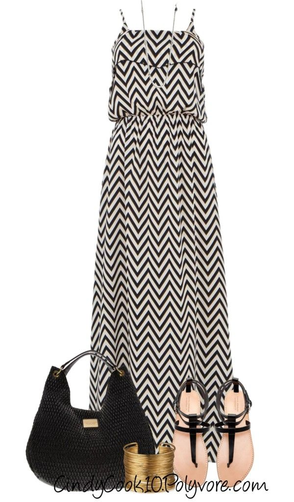 """Maxi Dress"" by cindycook10 on Polyvore"