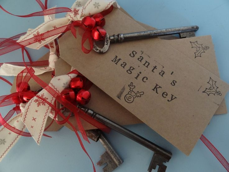 Magic Santa Key; Christmas Decoration - The Supermums Craft Fair