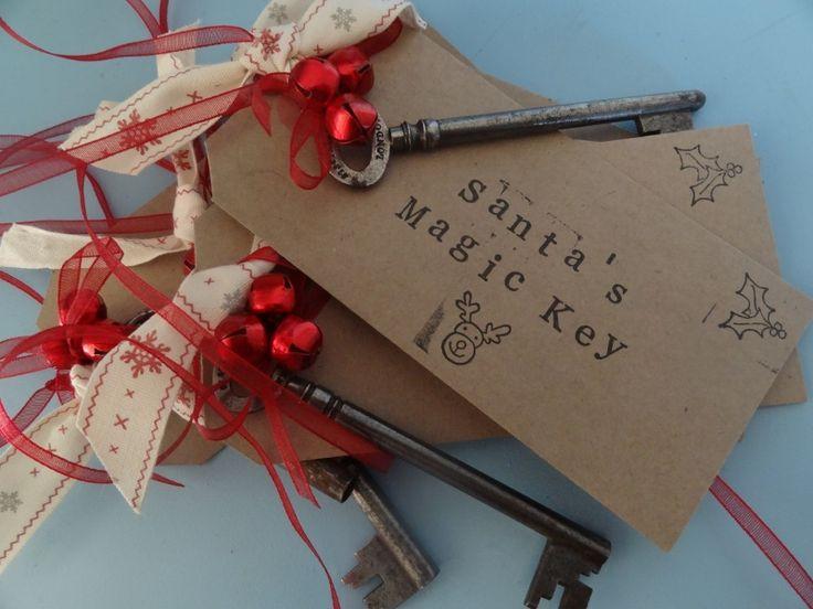 Magic Santa Key; Christmas Decoration - The Supermums Craft Fair