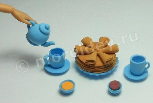 Посуда своими руками для кукол барби