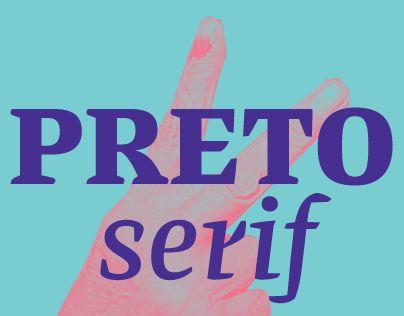 Preto Serif   design by DizajnDesign