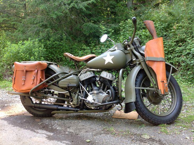 Harley Davidson WLA disebut-sebut sebagai motor perang paling elegan. Meski untuk perang, namun tampilannya cukup stylish. Penggunaan warna bodi hijau doff serta bahan kulit pada jok, post bag, dan sarung senapan, membuat tampilannya sekilas sebagai motor berburu.  Hampir 100 ribu unit Harley Davidson WLA yan diproduksi, sepertiganya dijual ke militer Rusia. Motor ini tak hanya diandalkan saat Perang Dunia II, namun juga pada Perang Korea pada 1950-an.