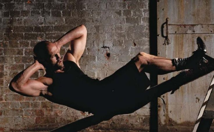 Jason Statham (The Transporter, The Mechanic, every other hot action movie that involves him being shirtless....)