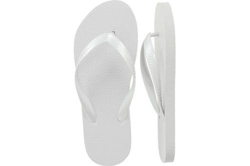 White Flip Flops - 24 Pairs