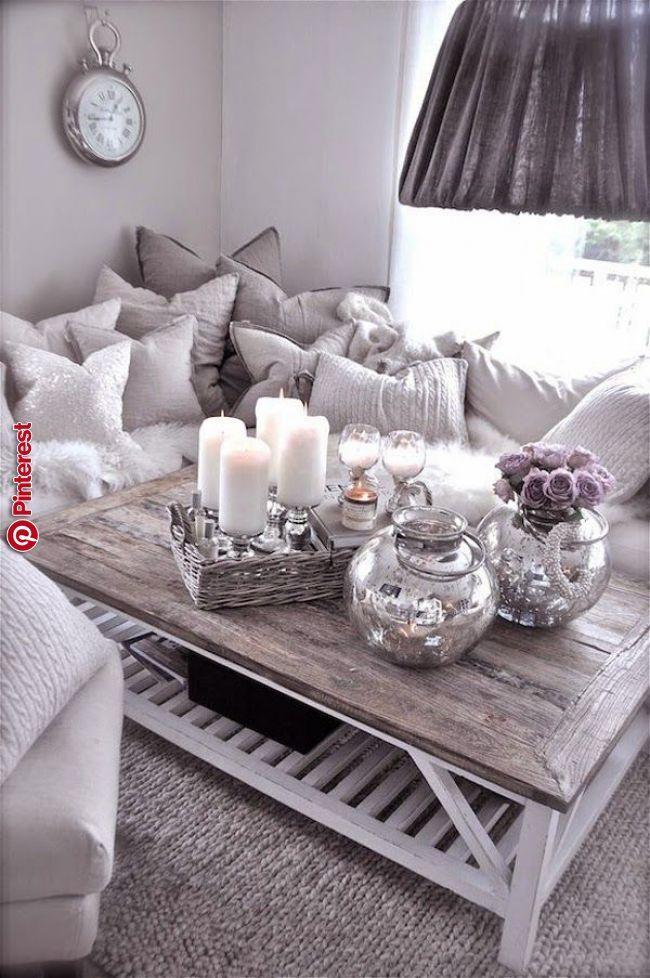Wohnzimmer Tisch Dekorationen | Wohnzimmer dekor, Wohnzimmer ...