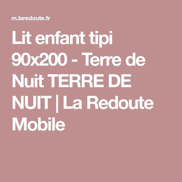 Lit enfant tipi 90x200 - Terre de Nuit TERRE DE NUIT | La Redoute Mobile