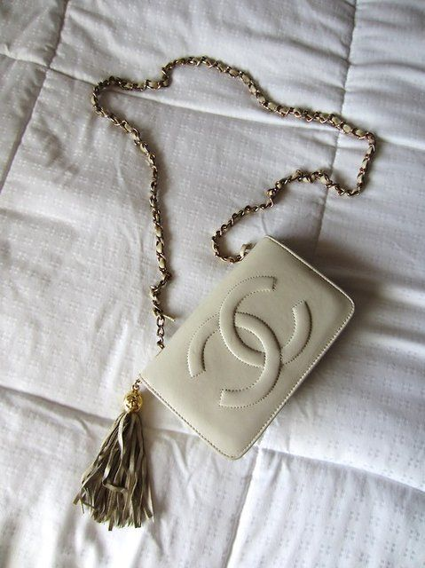 #chanel bag I have two from the 70's and they still look new!