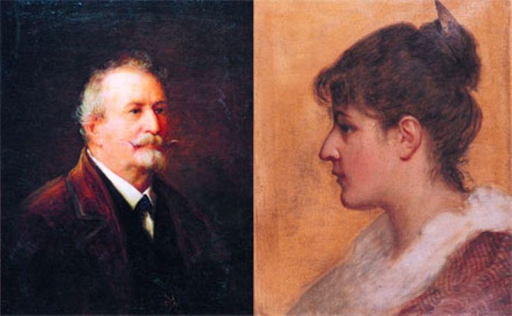 Madarász Viktor és Adeline