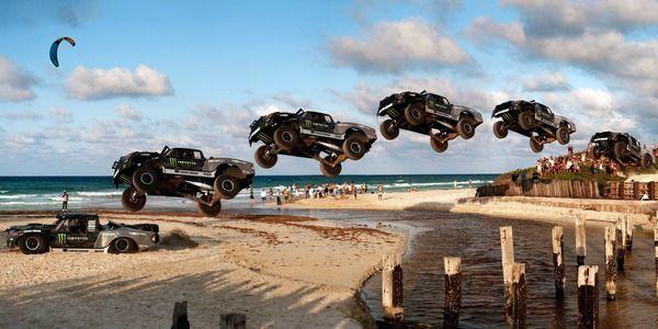 【動画】モンスターエナジーのトラックが60mの大ジャンプ!人気シリーズ第4弾が公開