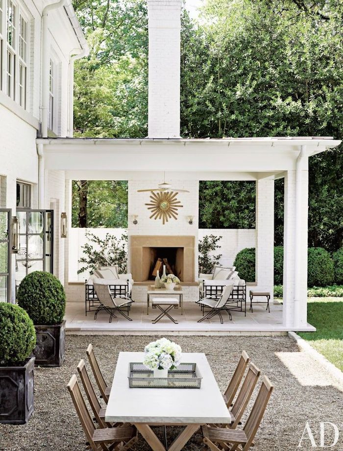 Have a great weekend … x debra 1 beautiful traditional-style outdoor area | photo pieter...