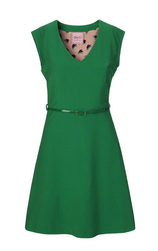 Dress 4913-507, Green