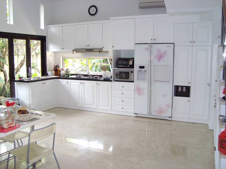 American Style Kitchen Design By Simple Luxury Interior Indonesia