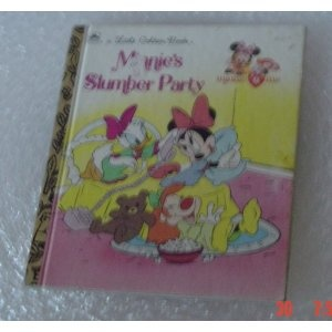 Minnie's slumber party (A Little golden book) [Hardcover]