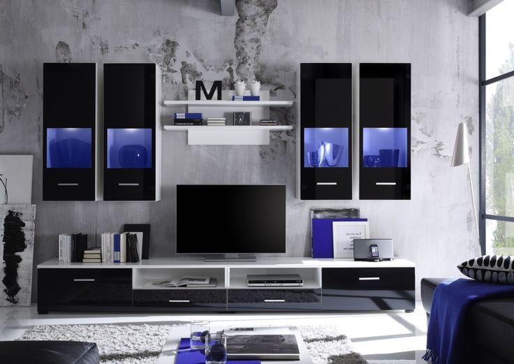 Die Besten Wohnwand Weiss Ideen Auf Pinterest Wohnzimmer