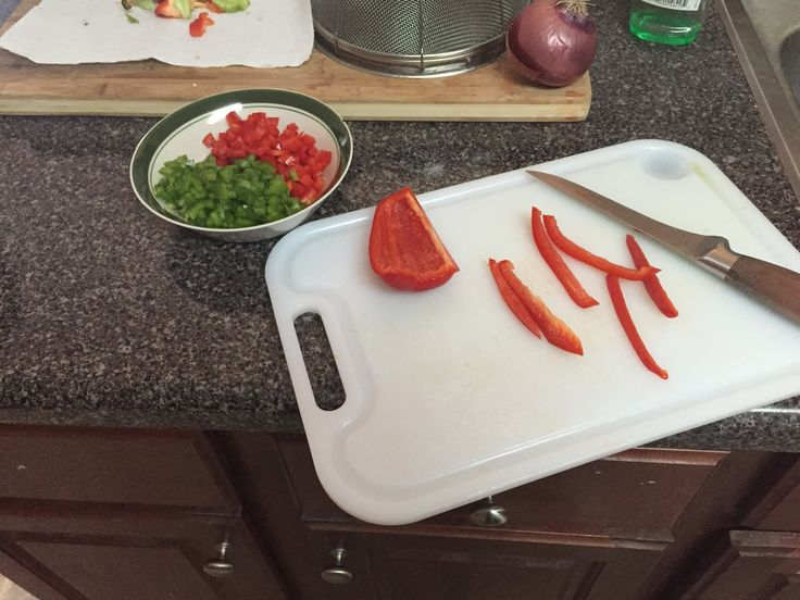 Dinner prep done right,  Courtesy, Andrew