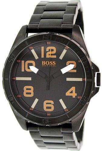HUGO BOSS Orange - Berlin 1513001 Black Analog Quartz Men's Watch