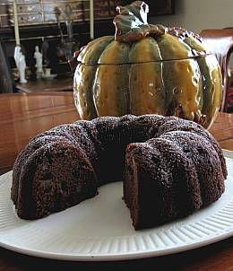 Victorian Spiced Applesauce Cake   DianasDesserts.com - Jessica Ealy