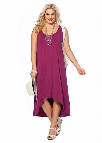 #TS14+ Kore Hi Lo Dress #plussize #curvy