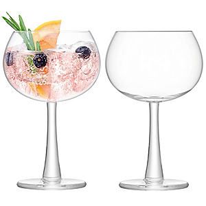 LSA International Set of 2 Gin Balloon Glasses #kaleidoscope #home