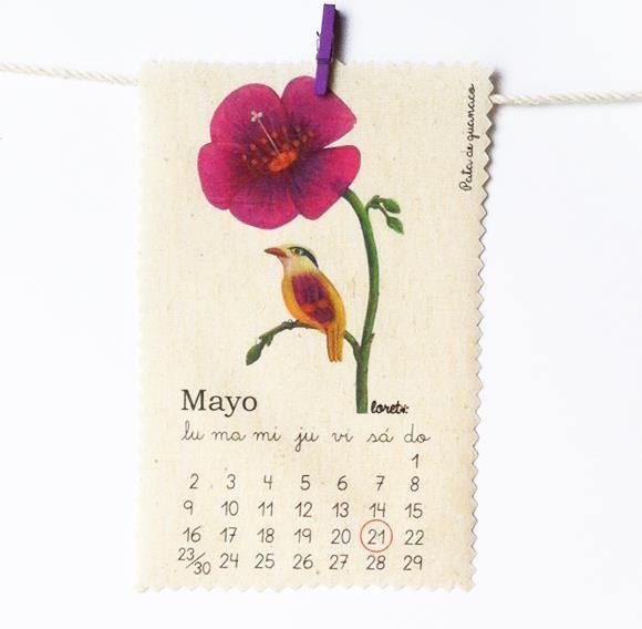 Mayo/ Pata de guanaco. Loreto Salinas
