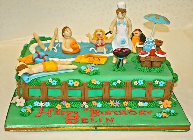 Pool Party Cake Idea: Cakes Ideas, Cakes Fondant, Amazing Cakes, Interesting Cakes, Cake Ideas, Cupcakes Cak, Designer Cakes, Parties Birthday, Birthday Cakes