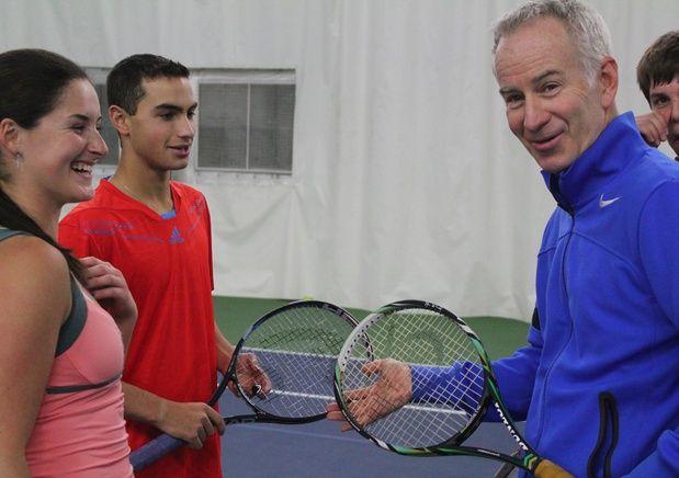 Split Decision In NCAA Finals For John McEnroe Tennis Academy Students Jamie Loeb, Noah Rubin http://www.worldtennismagazine.com/archives/11853