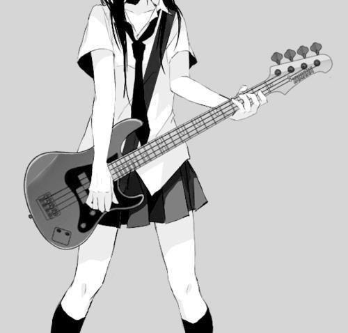 Group Of Anime Manga Guitar